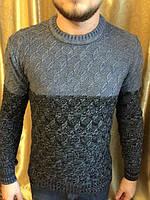 Мужской теплый свитер  Шерстяной тонкий свитер производства Турции.