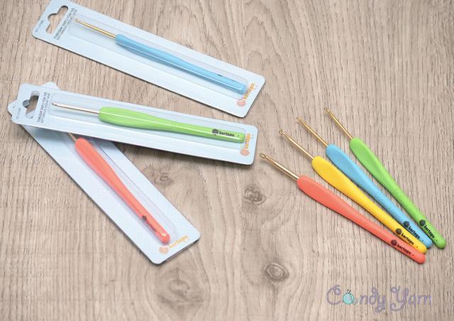 Крючки алюминиевые Kartopu с мягкой ручкой