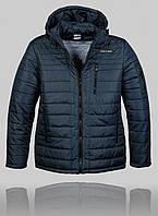 Мужская зимняя куртка Porsche 4456 Тёмно-синяя