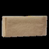 """Уголок из крафт бумаги""""Хот Дог класический"""" без рисунка 200*85мм 500шт (41)"""
