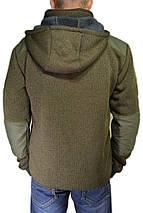 """Флисовая тактическая куртка """"Маммут-Страйк"""" (плотность 490 гр/м) со съёмным капюшоном, фото 2"""