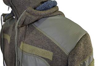 """Флисовая тактическая куртка """"Маммут-Страйк"""" (плотность 490 гр/м) со съёмным капюшоном, фото 3"""