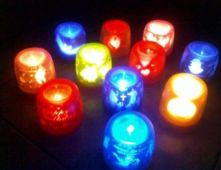Электронные мерцающие свечи