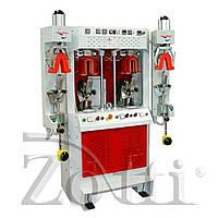 Машина формования пяточной части 2 горячие и 2 холодные станции с надувными обжимками SABAL 3414/CF