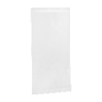 Уголок из белой бумаги (панини,багет) 240*120мм 500шт (32)