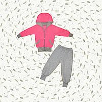 Теплый костюм для девочек Розовый Неон