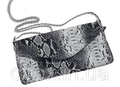 Сумочка клатч Python Print Clutch Bag, Avon, Ейвон, ручка - ланцюжок, 50045