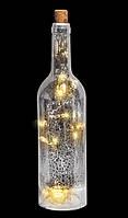 """Украшение декоративное """"Бутылка"""", 28 см, диаметр 7 см"""