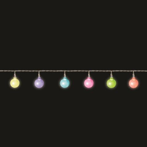 """Гирлянда """"Мультицветные жемчужины"""" Luca 2,2 м"""