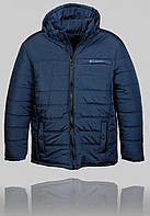 Мужская зимняя куртка COLUMBIA 4453 Тёмно-синяя