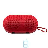 Портативная MP3 колонка Mini pill красная