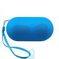 Портативная MP3 колонка Mini pill голубая