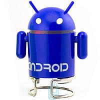 Портативная MP3 колонка Android 02 синяя