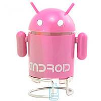 Портативная MP3 колонка Android 02 розовая