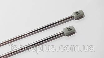 Спицы для вязания №4 металлические 35 см