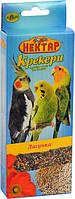 Корм для попугаев Нектар Крекер сладкоежка 2х50