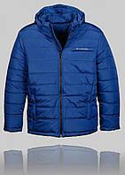 Мужская зимняя куртка COLUMBIA 4454 Синяя
