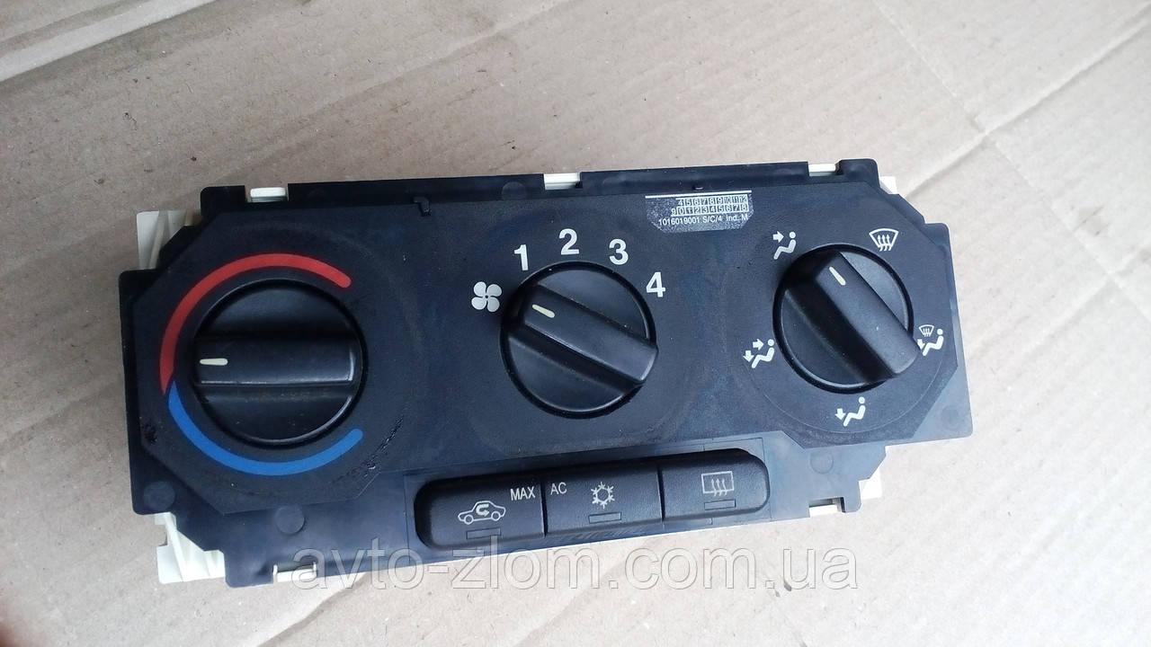 Блок управления печкой Opel Astra G, Опель Астра Г. 90559840, 52475625.