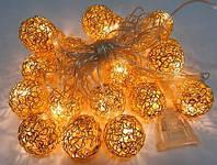 Электрическая светодиодная гирлянда «Сфера» на 20 светодиодов