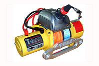 Лебедка электрическая автомобильная T-MAX EW-6500 COMPETITION RADIO (синтетический трос)
