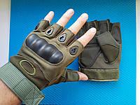 Тактические перчатки Oakley беспалые, Фитнес Атлетика Страйкбол