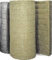 Маты минераловатные прошивные, обкладка - металлическая сетка Манье