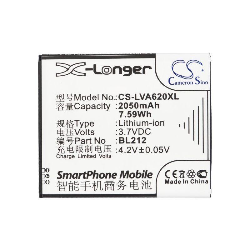 Аккумулятор Lenovo S898ts 2050 mAh Cameron Sino