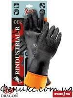 Перчатки резиновые защитные с продленной манжетой RINDUSTRIAL-R BP - 11 (35 см)