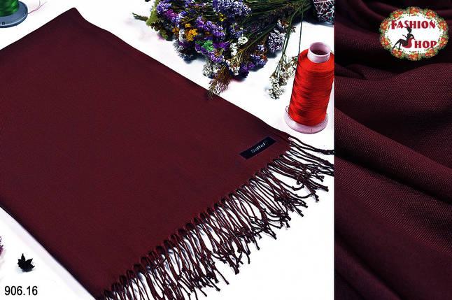 Шерстяной стильный шарф из пашмины, фото 2