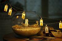 Электрическая светодиодная гирлянда «Тубус» на 20 светодиодов