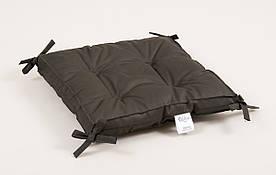 Подушка на стул Lotus 40*40*5 - Optima с завязками хаки