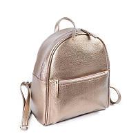 Золотистый женский рюкзак М132-69, фото 1