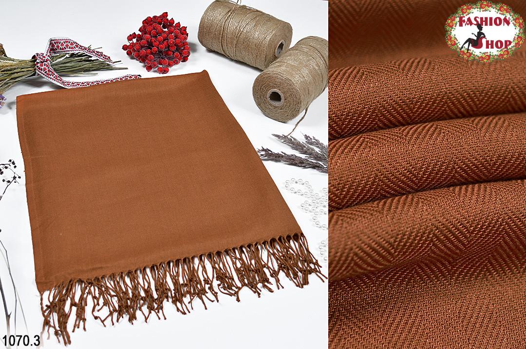 Жаккардовый стильный шарф