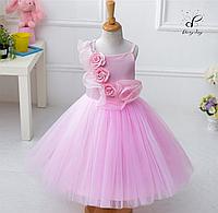 """Вечернее платье для девочек """"Адель"""". В розовом цвете."""