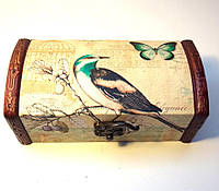 Шкатулка Прованс птичка, фото 1
