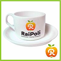 Чашка Кофейная с блюдцем и изображением