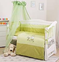 Детская постель  Twins Evolution А-005 Котик и собачка  8 ел