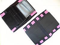 Пояс розовый спортивный для для спорта, фитнесса, бодибиллдинга (на латексной основе) L