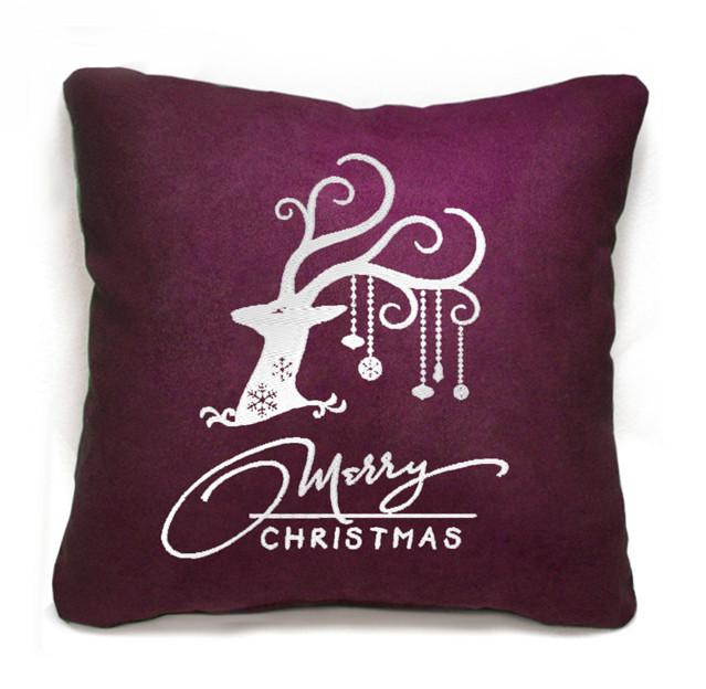 """Новогодняя подушка """"Merry Christmas"""" 19"""