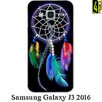 Чехол для Samsung J3 2015-16, бампер, F008, ловец снов