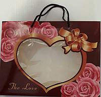 "Коробка с ручками 25х20х5 ""The Love"", фото 1"