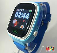 Детские умные часы- телефон с GPS трекером Smart Baby Watch Q100 Голубой