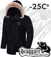 Braggart 'Black Diamond'. Куртка зимняя 3465 черная
