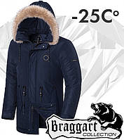 Braggart 'Black Diamond'. Куртка зимняя 3465 темно-синяя