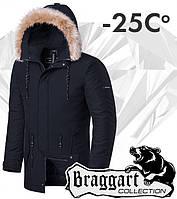 Braggart 'Black Diamond'. Куртка зимняя 3781 графит