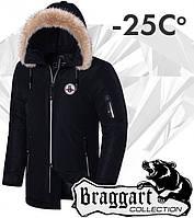 Braggart 'Black Diamond'. Куртка зимняя 4602 черная
