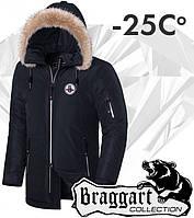 Braggart 'Black Diamond'. Куртка зимняя 4602 графит