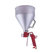 Распылитель пневматический для нанесения штукатурки металлический бачок AUARITA FR-300 (Италия/Китай)