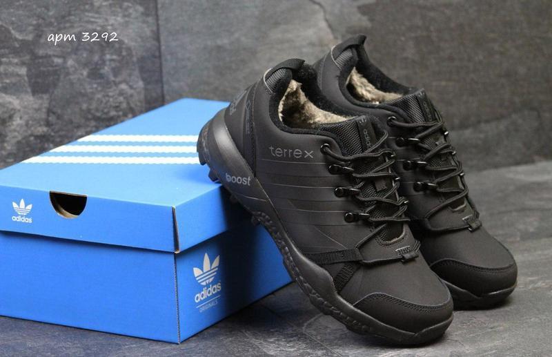 bf9ec414ba7758 Чоловічі зимові кросівки Adidas Terrex (3292) чорні - Камала в Хмельницком
