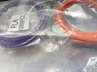 Комплект пластика для 3D ручки, 8 цветов по 10 метров, (PLA)